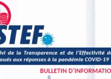 STEF/BULLETIN N°02 – Cadre juridique régissant la gestion de la lutte contre la pandémie COVID19